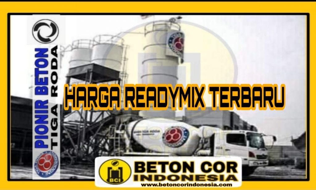 HARGA READYMIX MURAH TERBARU 2021
